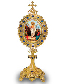 Monstrance-Style Easter Icon Ornament