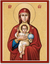 Mother of Our Savior Icon - 4.5
