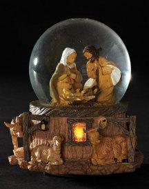 Musical Christmas Glitterdome