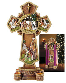 Nativity Cross Advent Cross