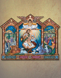 Nativity Icon Magnet