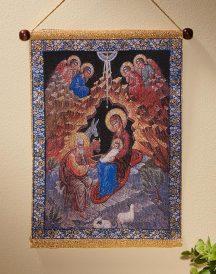 Nativity Icon Wall Hanging