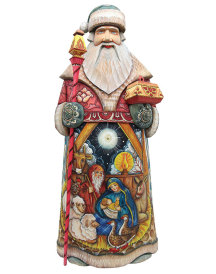 Nativity Santa Figurine