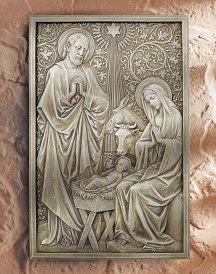 Nativity Wall Plaque