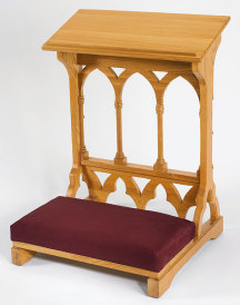 Cathedral Style Padded Kneeler