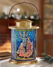 Old World Nativity Lantern