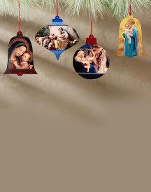 Old World Ornament Set