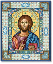 Ornamental Christ Icon  - 3