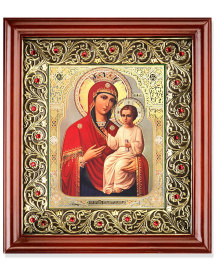 Ornamental Crystal Shrine - Russian Madonna