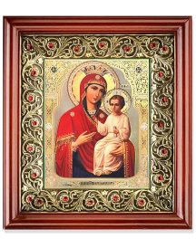 Ornamental Crystal Shrine - Russian Madonna