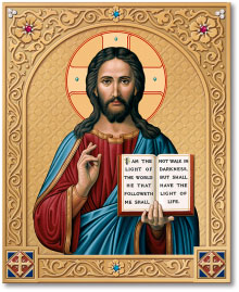 Ornamental Shrine of Christ the Lightgiver icon - 3
