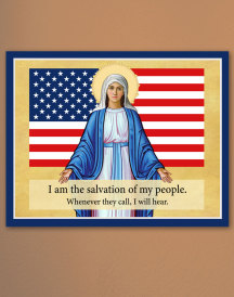 Our Lady of America icon