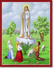 Our Lady of Fatima Original Icon 20