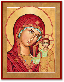 Our Lady of Kazan icon - 3