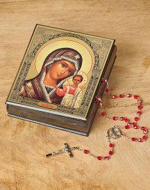 Our Lady of Kazan Keepsake Box