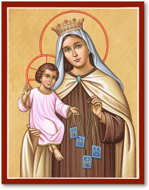 Our Lady of Mt. Carmel icon - 11