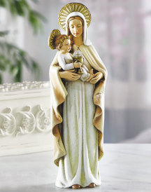 Our Lady of the Blessed Sacrament figurine