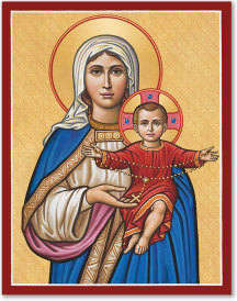 Our Lady of the Rosary Icon - 8