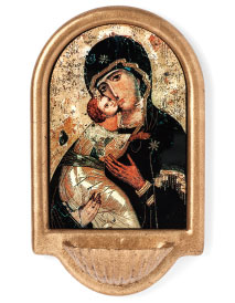 Our Lady of Vladimir Holy Water Font