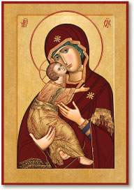Our Lady of Vladimir Icon - 3