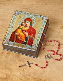 Our Lady of Vladimir Keepsake Box