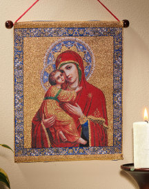 Our Lady of Vladimir Wall Hanging