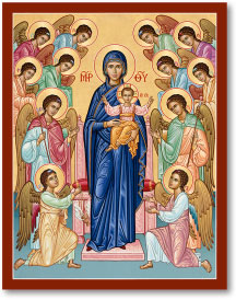 Our Lady Queen of Angels icon - 3