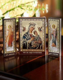 Perpetual Help Angelic Triptych