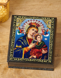 Perpetual Help Ornate Box