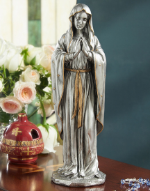 Praying Virgin Mary figurine