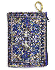 Prayer rope pouch, blue