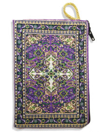 Prayer rope pouch, lavender