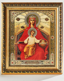 Queen of Heaven Heirloom Icon
