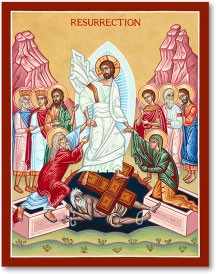 Resurrection Icon - 3