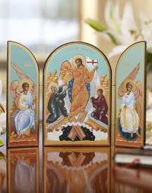 Resurrection Icon Triptych