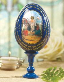 Resurrection Wooden Egg