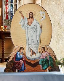 Risen Christ Indoor-Outdoor Display