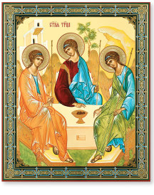 Rublev Style Trinity icon - Large