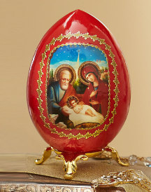 Russian Christmas Egg
