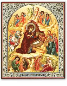 Byzantine Style Nativity Gift Icon