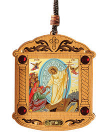 Russian Icon Ornament