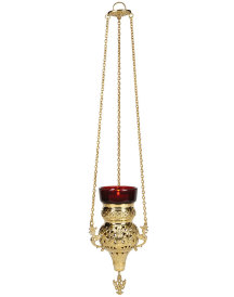 Russian Style Brass Hanging Lamp