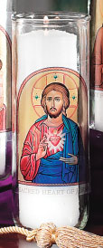 Sacred Heart of Jesus Votive Candle