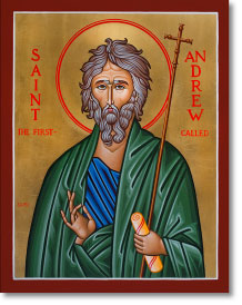 Saint Andrew original icon 20