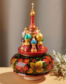 Saint Basil Figurine - Red