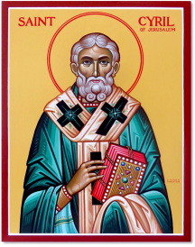 Saint Cyril of Jerusalem Original Icon