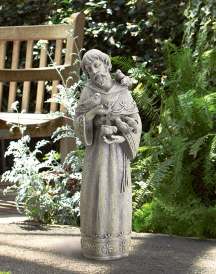 Saint Francis and the Animals Outdoor Figurine