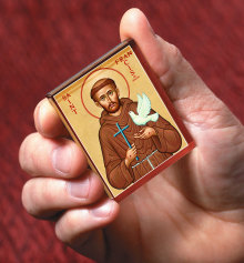 St. Francis Icon Magnet