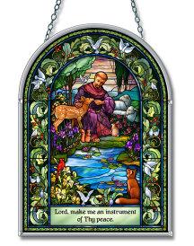Saint Francis Suncatcher
