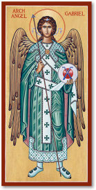 Saint Gabriel the Archangel Icon - 3